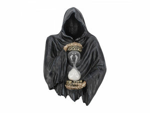Dark Gothic Grim Reaper Wall Plaque Halloween Decoration Ornament