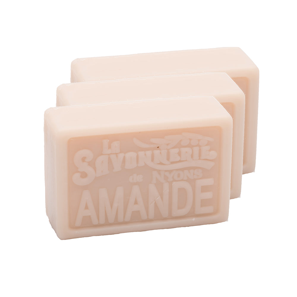 Almond Soap 100g - Pack of 3
