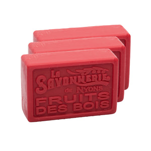 Fruits Rouges Soap 100g - Pack of 3
