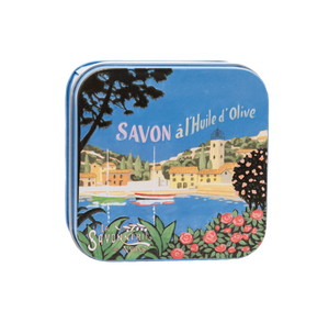 "100g Soap in Tin Box ""Côte d'Azur Marina"" Pack of 3"