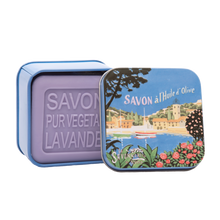 "Load image into Gallery viewer, 100g Soap in Tin Box ""Côte d'Azur Marina"" Pack of 3"