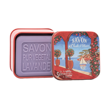 "Load image into Gallery viewer, 100g Soap in Tin Box ""Côte d'Azur Rivièra"" Pack of 3"