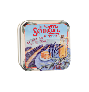 "100g Soap in Tin Box ""Provence Lavande"" Pack of 3"