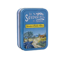 "Load image into Gallery viewer, 200g Soap in Tin Box ""Provencal Landscape"" Pack of 2"