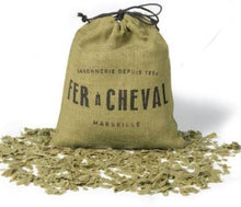 Load image into Gallery viewer, Fer à Cheval Genuine Marseille Soap flakes (Olive based) Sachet 750g