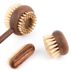 Andrée Jardin Heritage Ash Wood Handled Body Brush
