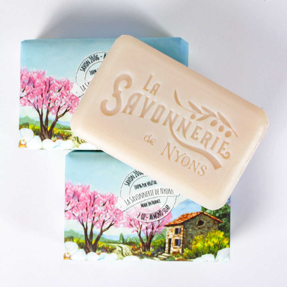 French Soap Depot La Savonnerie de Nyons Almond Organic Soap