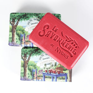 French Soap Depot La Savonnerie de Nyons Fruits Rouges Red Fruits Organic Soap
