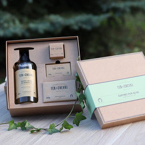 Fer à Cheval Marseille Olive Soap Set Gift Box