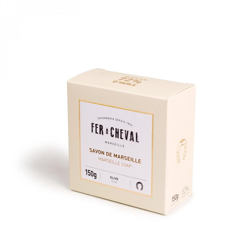 Fer à Cheval Premium Marseille Soap Olive Oil 150g Bar - Pack of 2