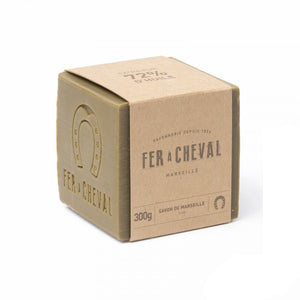 Fer à Cheval Genuine Marseille Soap Olive Oil 300g Cube - Pack of 3