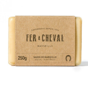 Fer à Cheval Genuine Marseille Soap Unscented 250g Bar  - Pack of 3