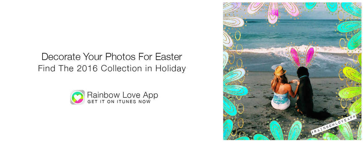 Add Rainbows to Photos and Make Photo Cards Free with RainbowLove App