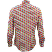 Tailored Fit Long Sleeve Shirt - Butterflies
