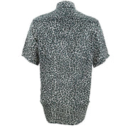 Regular Fit Short Sleeve Shirt - Leopard