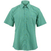 Regular Fit Short Sleeve Shirt - Cross-Eyed