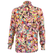 Tailored Fit Long Sleeve Shirt - Bright Floral