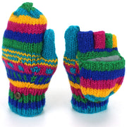 Wool Knit Shooter Gloves - Carnival