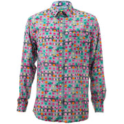 Regular Fit Long Sleeve Shirt - Spotty