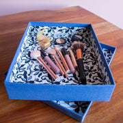 Handmade Luxury A4 Deep Presentation Shirt & Gift Box - Cobalt