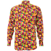 Regular Fit Long Sleeve Shirt - Islands