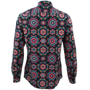 Tailored Fit Long Sleeve Shirt - Fractal