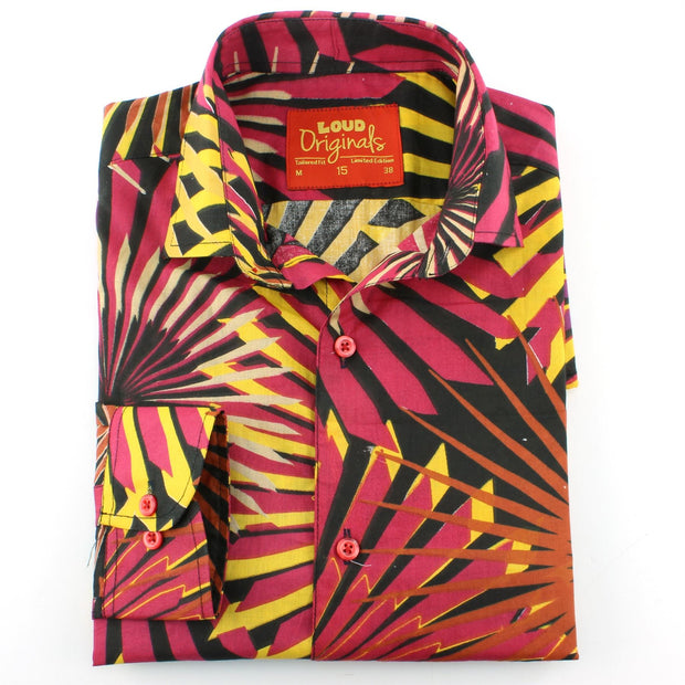 Tailored Fit Long Sleeve Shirt - Big Bang Fireworks