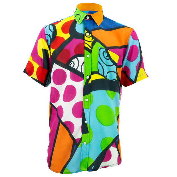 Regular Fit Short Sleeve Shirt - Carnival Beach