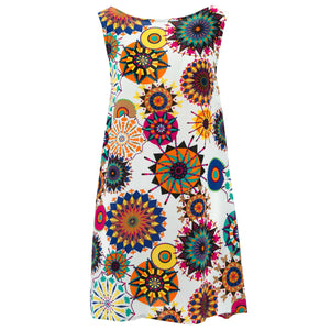 Shift Shaper Dress - Vibrant Geometric