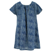 Floaty Pocket Pleat Dress - Spine Lines