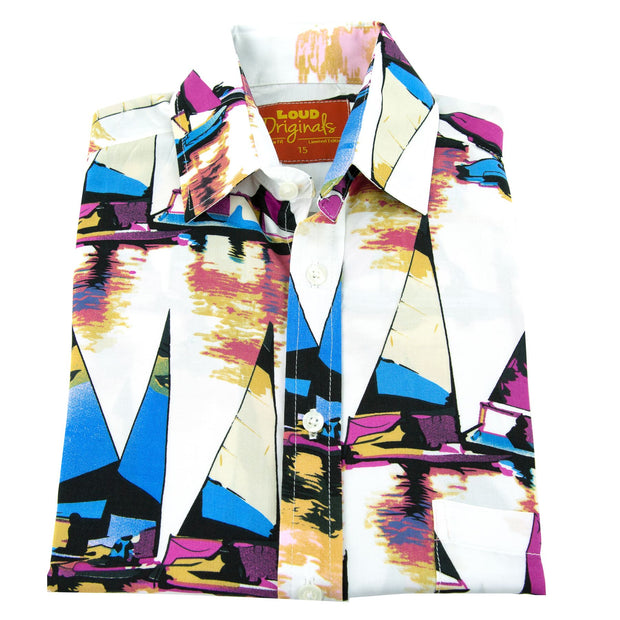 Regular Fit Short Sleeve Shirt - Gone Sailing