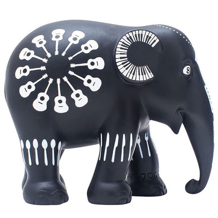 Limited Edition hand painted replica Elephant - Satao