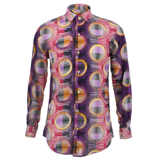 Slim Fit Long Sleeve Shirt - Porthole Blinds