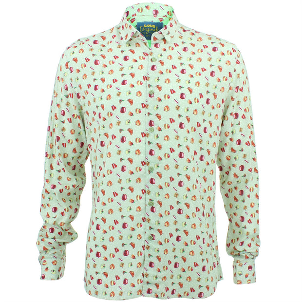 Slim Fit Long Sleeve Shirt - Afternoon Tea