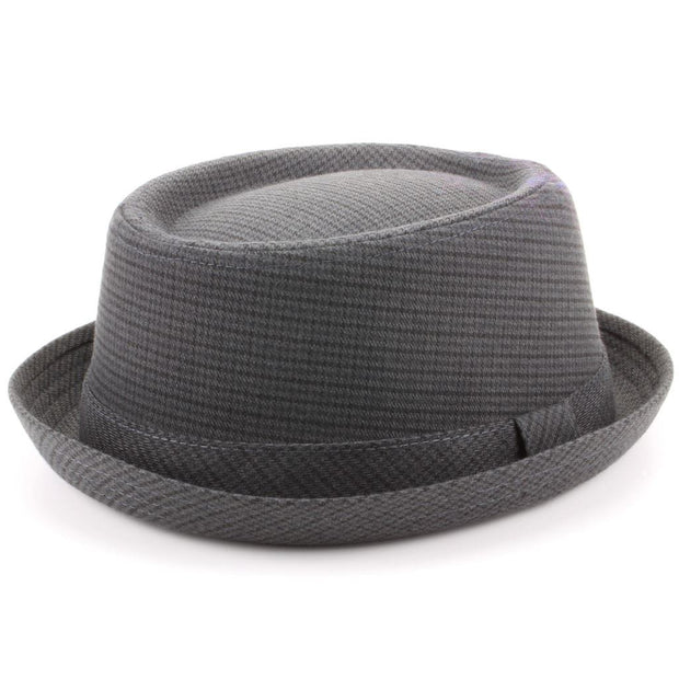 Pork Pie Hat - Dark Tweed