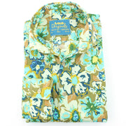 Slim Fit Long Sleeve Shirt - Floral