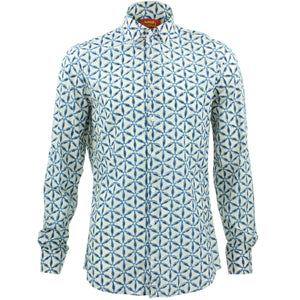 Tailored Fit Long Sleeve Shirt - Geodesic