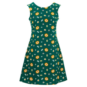 Nifty Shifty Dress - Green Explosion