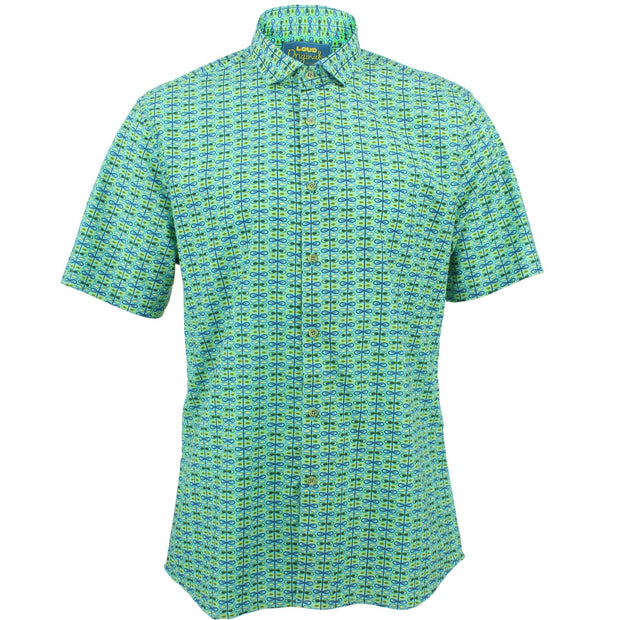 Slim Fit Short Sleeve Shirt - Cross-Eyed
