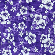 Short Sleeve Hawaiian Shirt - Purple