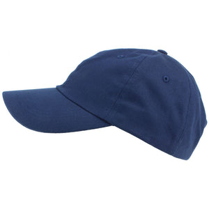 Plain Baseball Cap - Navy