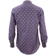 Tailored Fit Long Sleeve Shirt - Pixelated Tiles
