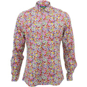 Slim Fit Long Sleeve Shirt - Ditzy Floral