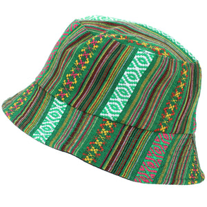 Canvas Bucket Hat - Green