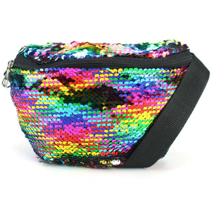 Sequin Bumbag - Rainbow