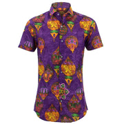 Tailored Fit Short Sleeve Shirt - Bauble Balloons