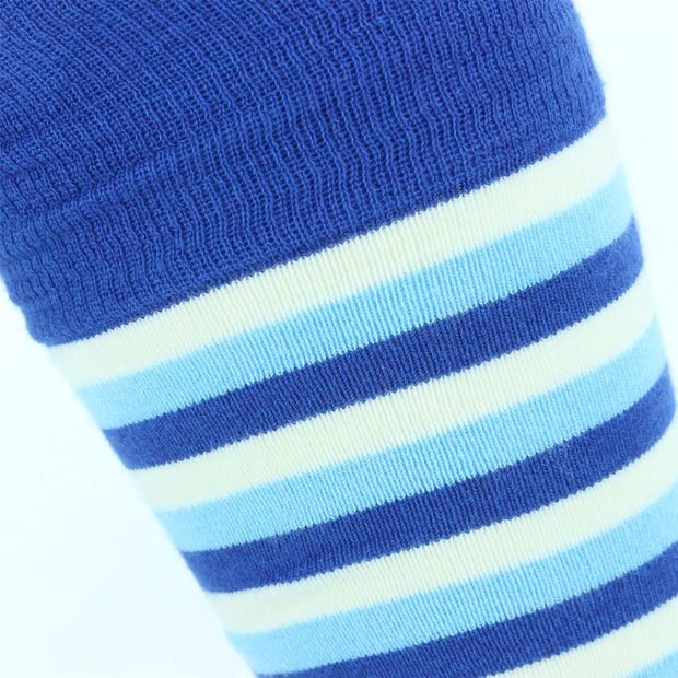 Long Bamboo Socks - Two Blues
