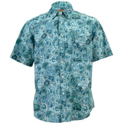 Regular Fit Short Sleeve Shirt - Garden Rose