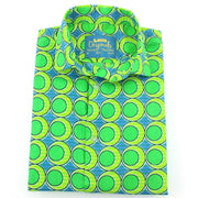 Tailored Fit Short Sleeve Shirt - Green Eggs