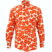 Regular Fit Long Sleeve Shirt - Floral